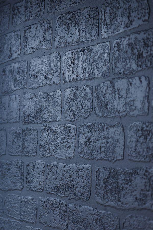 Lincolnshire Brick Wallpaper - White - by Anaglypta