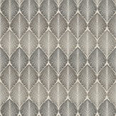Osborne & Little Leaf Fall Metallic Silver / Slate Wallpaper - Product code: W6591-04
