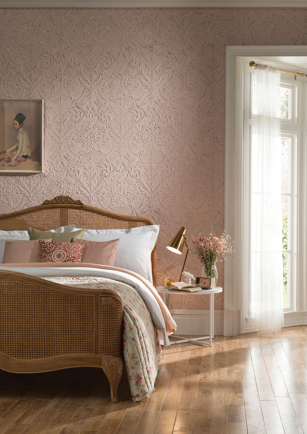 Lincrusta Passeri Paintable Wallpaper - Product code: RD1971FR