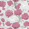 Osborne & Little Japonerie Pink / Ivory / Silver Wallpaper