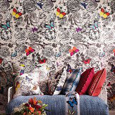 Osborne & Little Butterfly Garden Original Multi Wallpaper - Product code: W6592/01