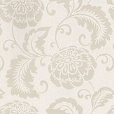 Prestigious Elouise Chalk Chalk / Taupe Wallpaper - Product code: 1621/076