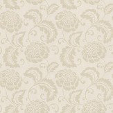 Prestigious Elouise Chartreuse Chartreuse / Beige Wallpaper