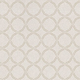 Prestigious Cora Chalk Chalk / Metallic Silver Wallpaper - Product code: 1613/076