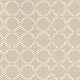 Prestigious Cora Chartreuse White / Gold Wallpaper - Product code: 1613/159
