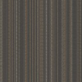 Albany Mayim Stripe Black / Gold Wallpaper
