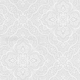 Prestigious Imara Mist Grey / Off White Wallpaper