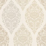 Prestigious Loriana Chartreuse Chartreuse / Beige / Grey Wallpaper - Product code: 1612/159