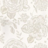 Prestigious Mirella Chalk Cream Wallpaper