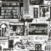 Albany Urban Sights Black / White Wallpaper - Product code: 11239