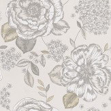 Prestigious Mirella Mist Grey Wallpaper