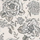 Prestigious Mirella Dove Black / Grey / Cream Wallpaper