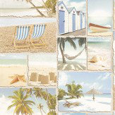Albany Wish You Were Here Multi Wallpaper - Product code: 11280