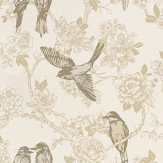 Prestigious Songbird Chartreuse Chartreuse / Cream Wallpaper - Product code: 1616/159