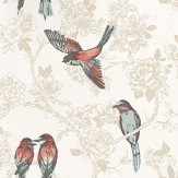 Prestigious Songbird Vintage Beige / Cream Wallpaper