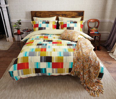 Image of Scion Bedding Navajo Knitted Cushion, 318440