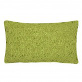 Sanderson Spring Flowers Green Knitted Cushion