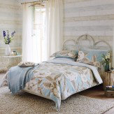 Harlequin Floria Super King Duvet Blue Duvet Cover