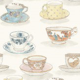 Linwood Tea Time  Multi Wallpaper