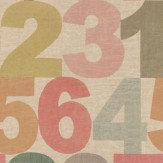 Linwood Rainbow Numbers  Multi Wallpaper