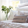 Harlequin Lattice Cushion