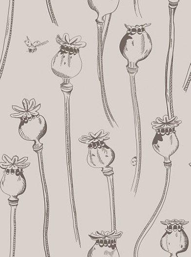 Image of Earth Inke Wallpapers Poppy Pepper Pots Dormouse, PPPDM