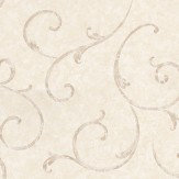 Albany Satin Charm Pale Cream Wallpaper