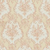 Albany Satin Charm Cream / Pink Wallpaper