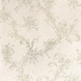 Albany Satin Charm Pale Green / Cream Wallpaper