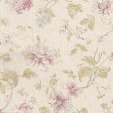 Albany Satin Charm Pink / Blue Wallpaper