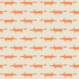Scion Little Fox Ginger Wallpaper - Product code: 110841