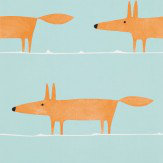 Scion Mr Fox Auburn Wallpaper - Product code: 110849