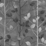 Arthouse Woodland Charcoal Wallpaper