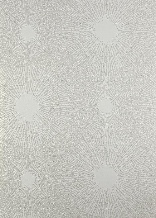 Shore Parchment Wallpaper - Parchment / Silver - by Anthology