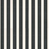 Galerie Simply Stripes 2 Black / White Wallpaper