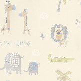 Galerie Tiny Tots Cream / Grey / Beige Wallpaper - Product code: G45145