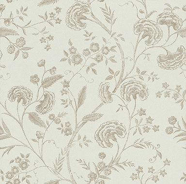 Blendworth Liana Duck Egg Blue / Gold Wallpaper main image