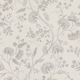 Blendworth Liana Off White / Metallic Silver Wallpaper