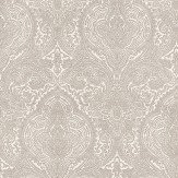 Blendworth Addison Pale Gold / White Wallpaper