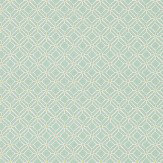 Sanderson Fretwork  Aqua Lime Wallpaper - Product code: 213720