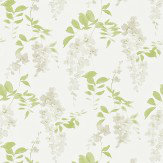 Sanderson Wisteria Blossom Silver Apple Wallpaper - Product code: 213742
