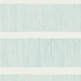Sanderson Tatami Stripe Aqua Teal Wallpaper - Product code: 213738