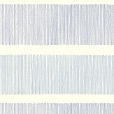 Sanderson Tatami Stripe  Indigo Blue Wallpaper - Product code: 213740