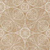 Eijffinger Yasmin Cream Gold Metallic Gold / White Wallpaper - Product code: 341751