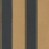 Eijffinger Yasmin Stripe Metallic Gold / Black Wallpaper