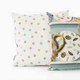 Emma Bridgewater The Dresser cushion - Duck Egg Rice