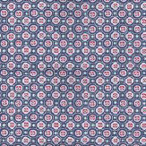 Eijffinger Small Geo Navy Navy / Pink / White Wallpaper
