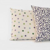Emma Bridgewater Love Purple cushion