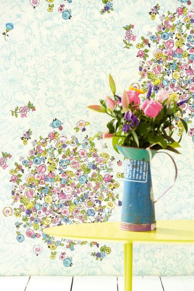 Image of Eijffinger Murals Bouquets Bright, 341586