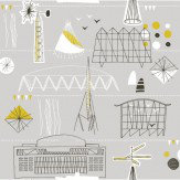 Mini Moderns Festival  Concrete Wallpaper - Product code: AZDPT014 Concrete